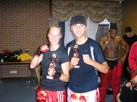 Sanne en Ismaïl Juni 2007